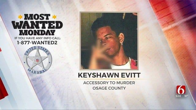 U.S. Marshals Seek Man Suspected On Accessory To Murder