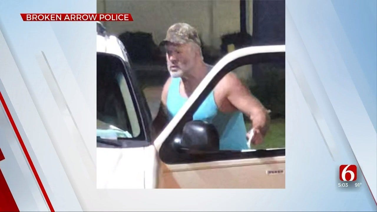 Broken Arrow Police Look For Man After Argument At Drive-Thru