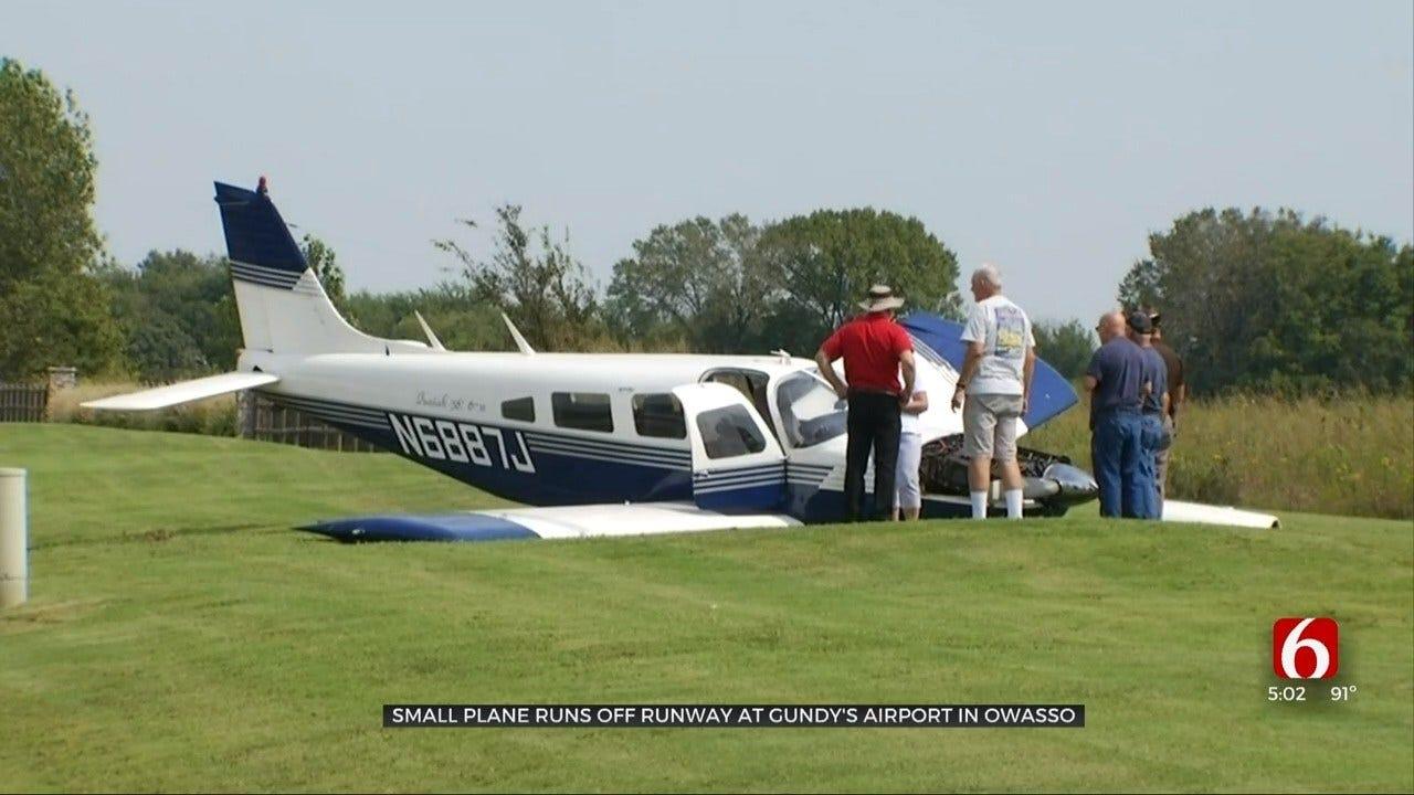 Pilot Misses Runway At Gundy's Airport In Owasso