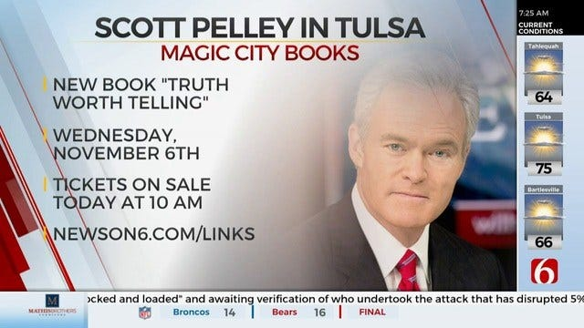 Former CBS Evening News Anchor Coming To Tulsa