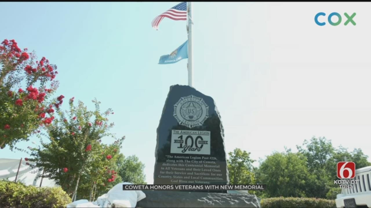 New Memorial Dedicated In Coweta To Honor Veterans