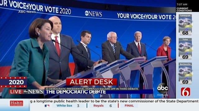 Democratic Debate Focused On Healthcare, Gun Control