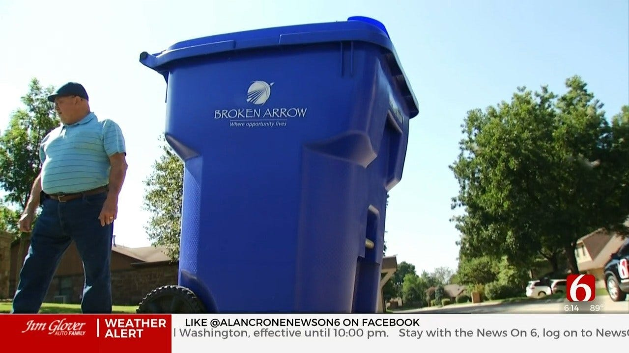 Broken Arrow Testing New Recycling Program