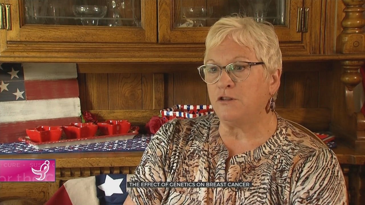 Genetics & Cancer: Decision For Mastectomy Saves Woman's Life