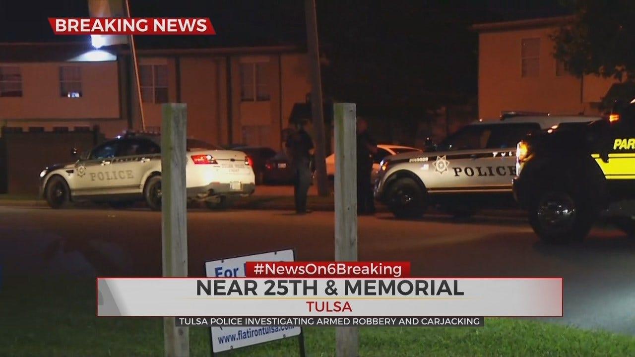 Tulsa Police: Man Carjacked, Lured With Smartphone App