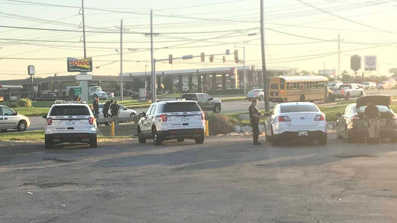 Woman Walking Kids To School Spots Body In Tulsa Creek