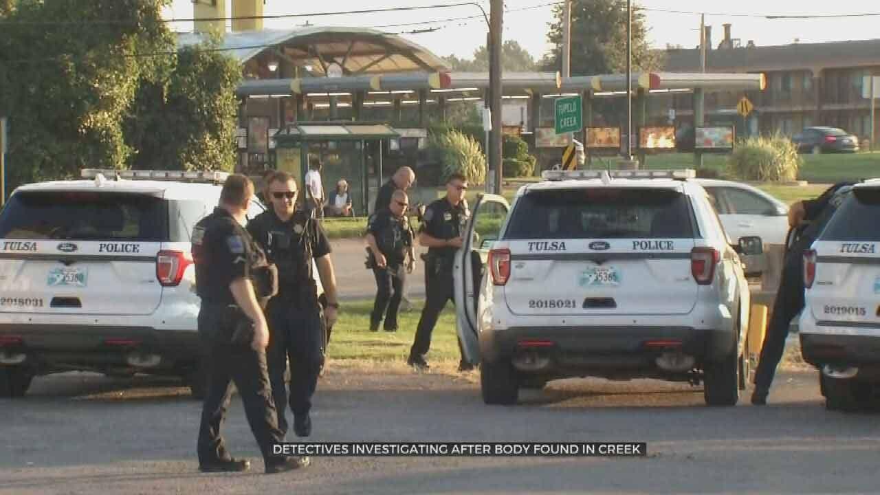 Woman Walking Kids To School Finds Body In Tulsa Creek