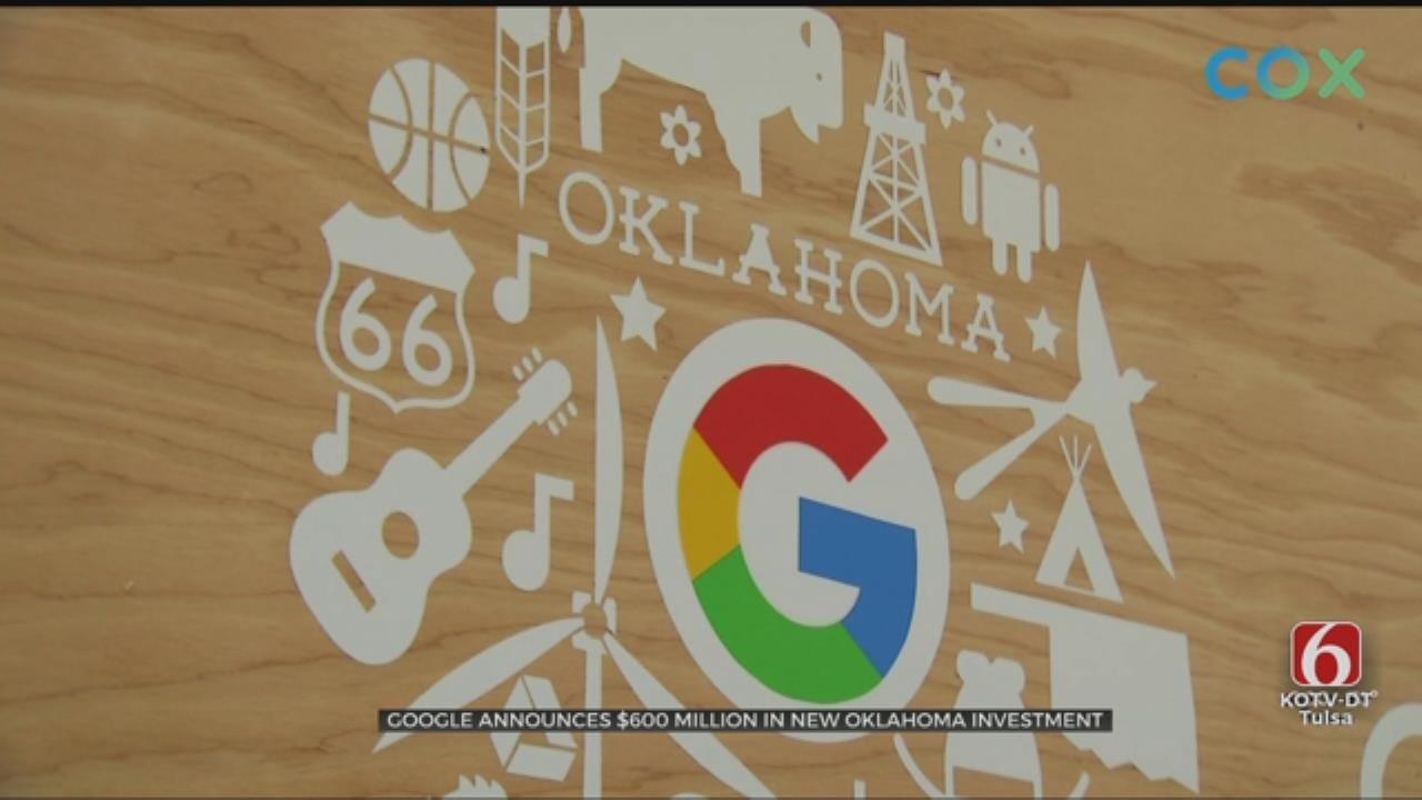Google Announces New $600 Million Investment In Pryor