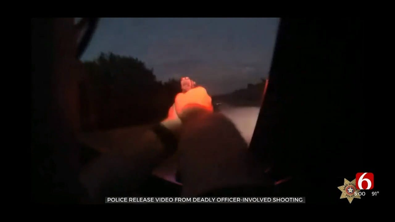 Bodycam Video Released In Deadly Sand Springs Officer-Involved Shooting