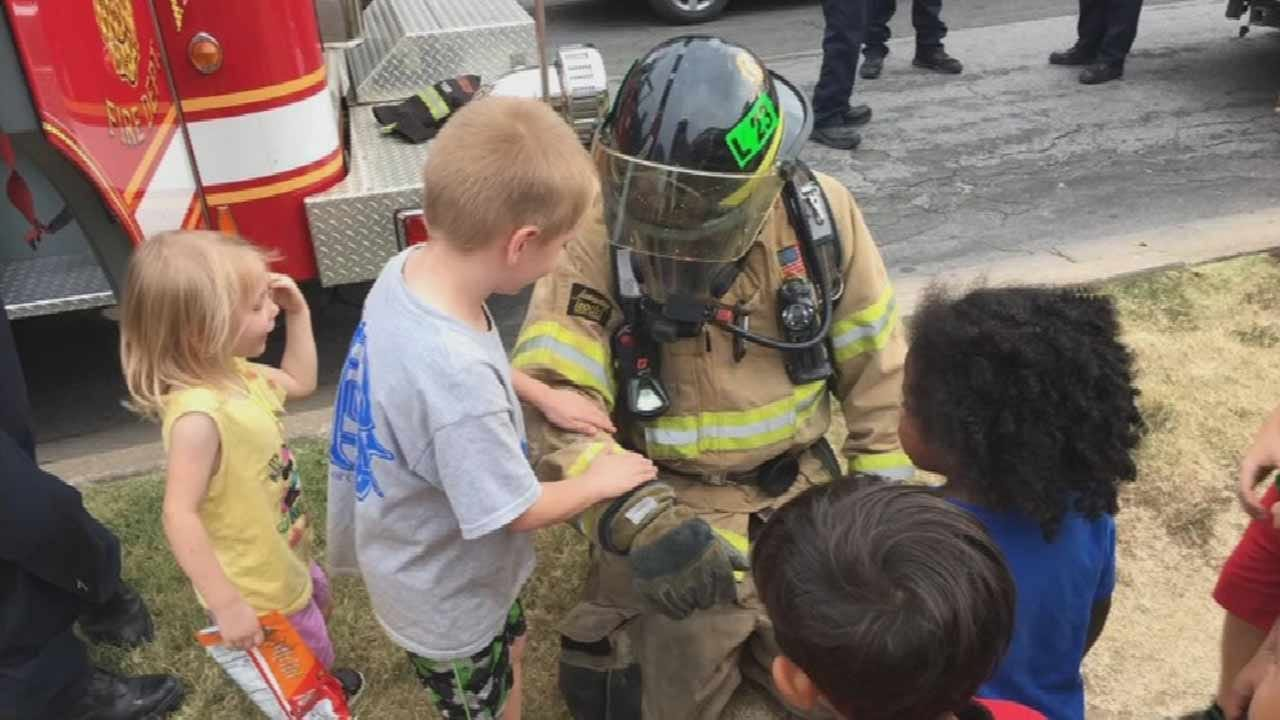 'Tulsa Night Out' Helps Citizens Get Better Acquainted With First Responders