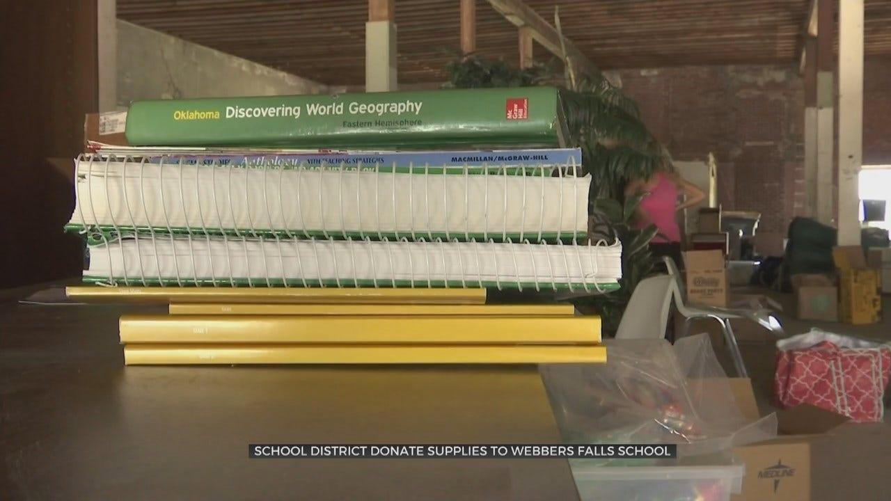 Webbers Falls Teachers Receive More Donations