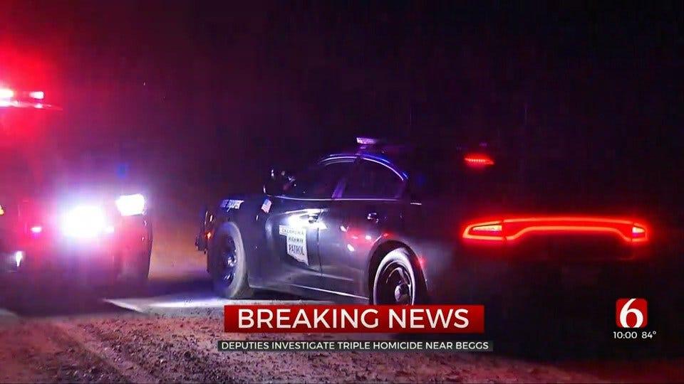 Authorities Investigate Triple Homicide In Beggs