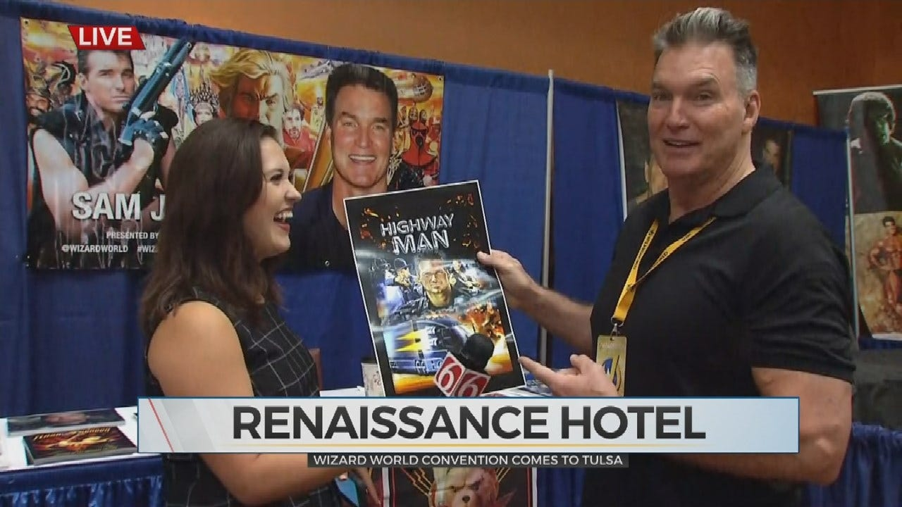 Flash Gordon's Sam J. Jones Visits With News On 6