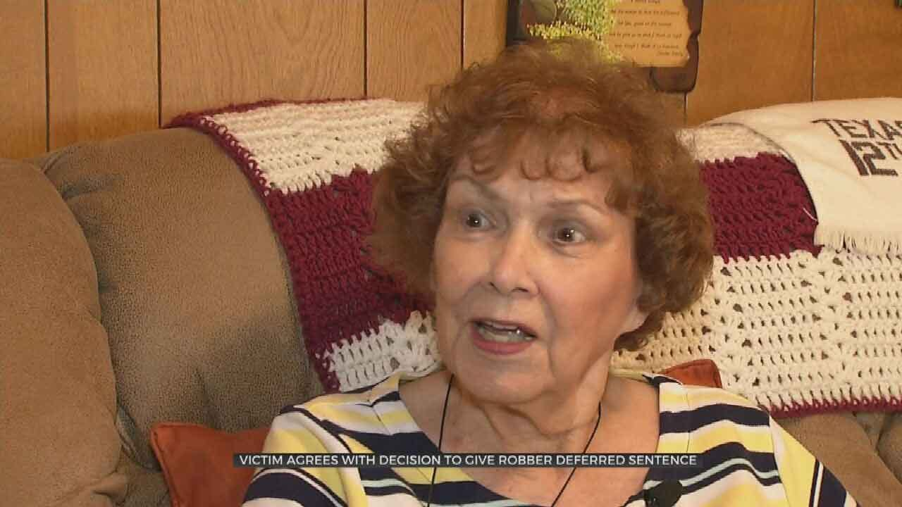 Elderly Tulsa Crime Victim Supports Second Chance For Attacker
