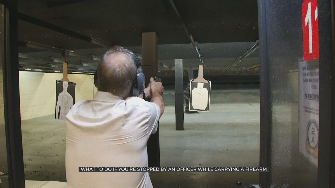 Oklahoma Law Enforcement Expert Gives Advice For Gun Owners