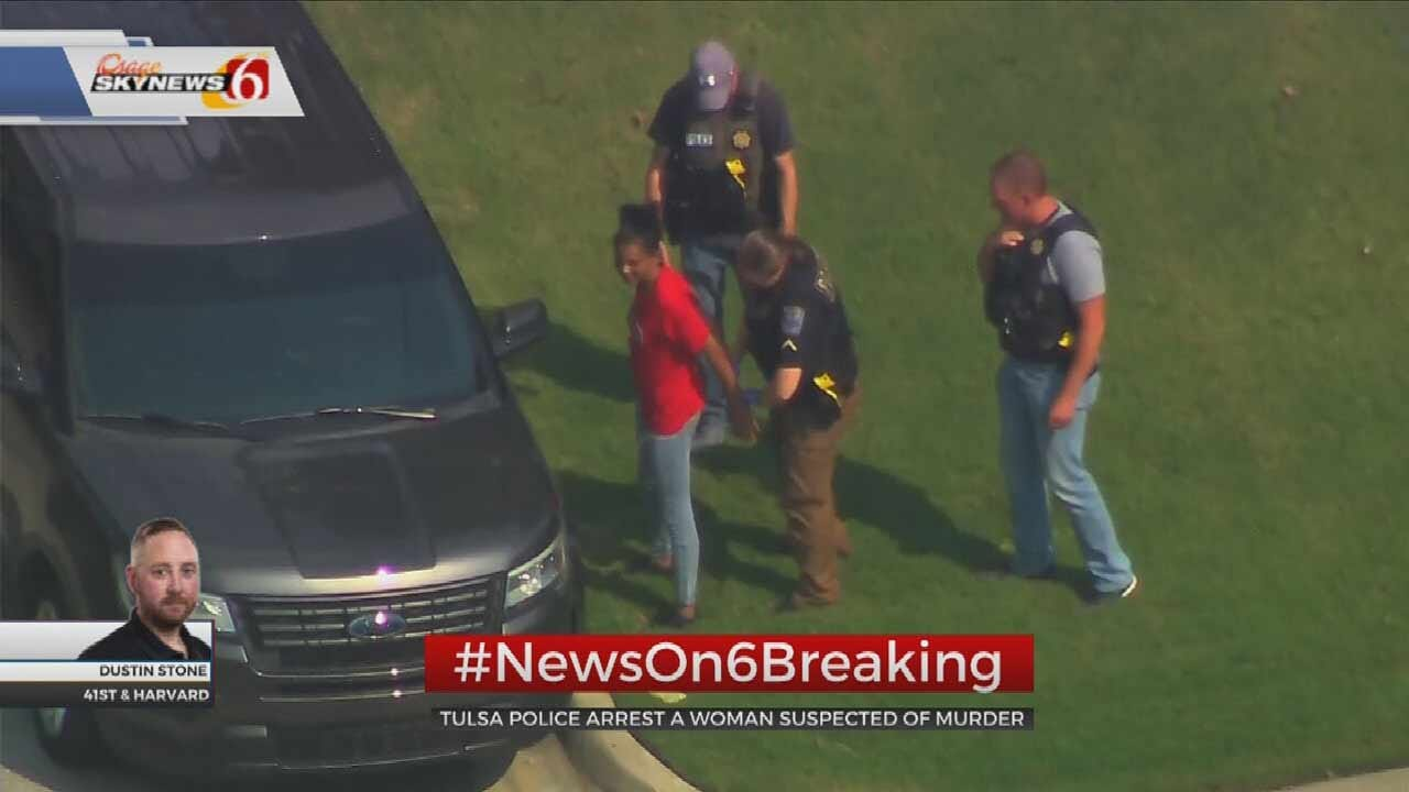 WATCH: Woman Is Arrested In Unsolved Tulsa Homicide
