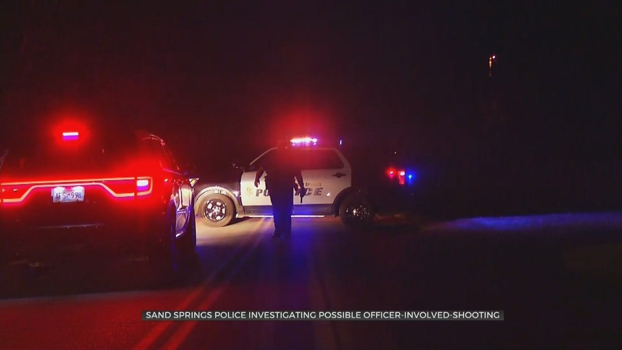 OSBI Identifies Suspect In Sand Springs Officer-Involved Shooting