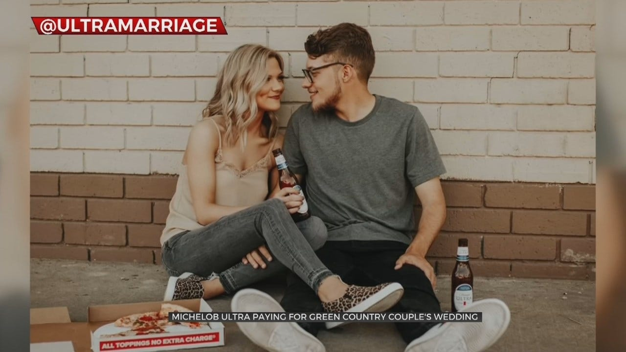 WATCH: Oklahoma Couple Gets Wedding Paid For By Beer Company