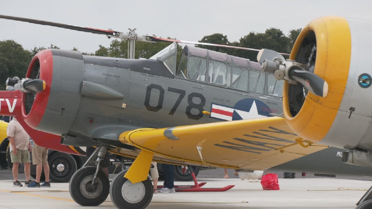 Tulsa Warbird Foundation Brings History To Life With Sand Springs Fly-In
