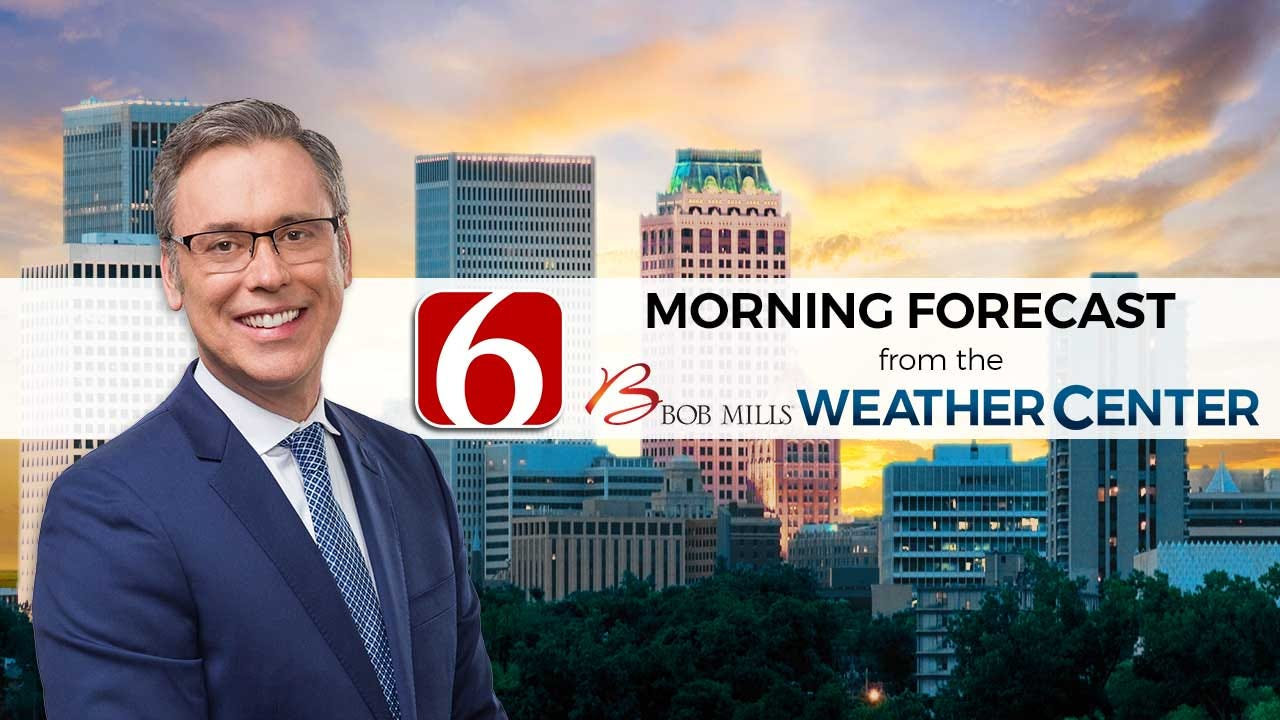 Friday Morning Forecast With Alan Crone