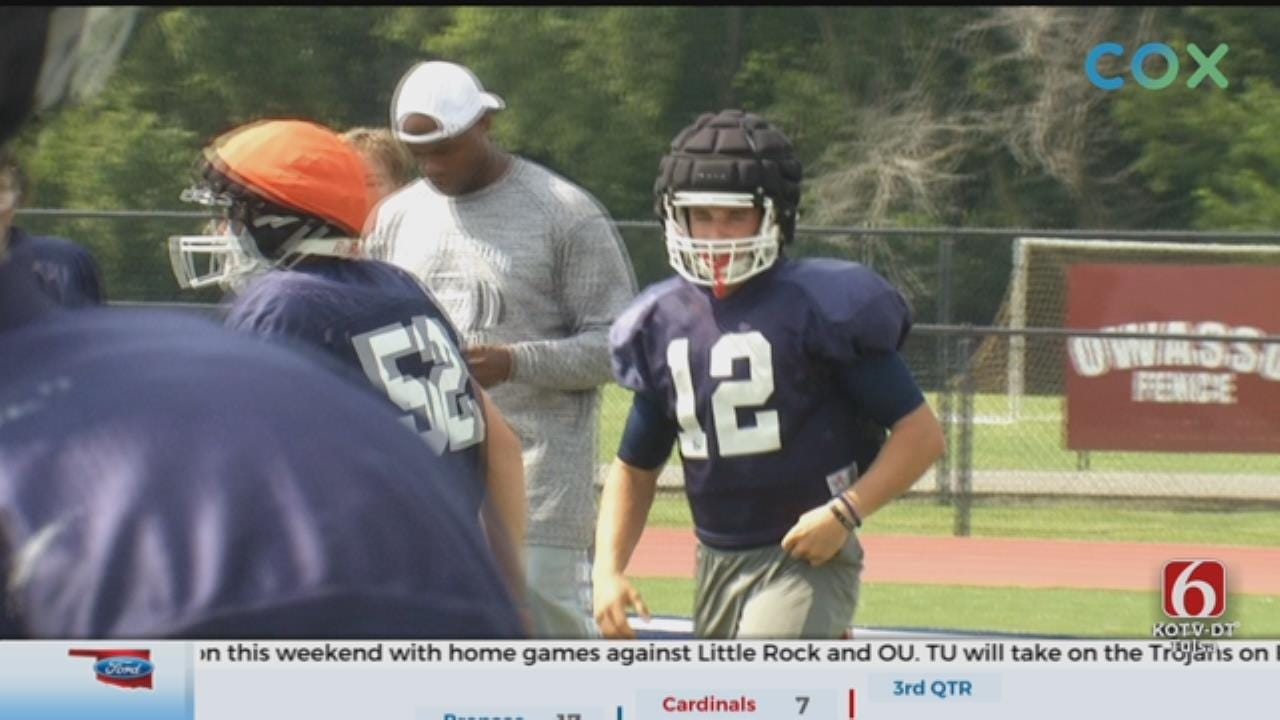 Asher Link Looks To Lead Metro Christian Under Center This Year