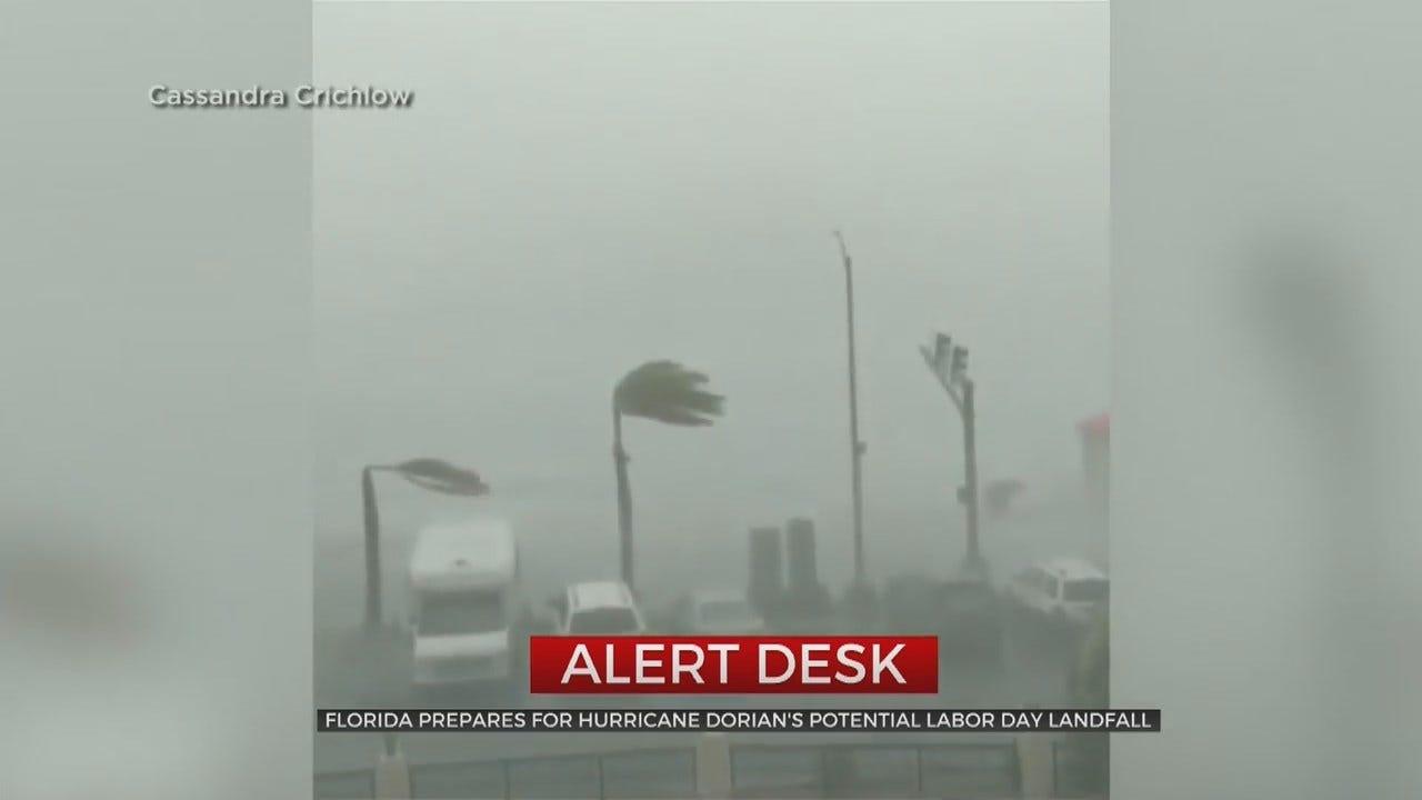 Hurricane Dorian Could Make Landfall In Florida