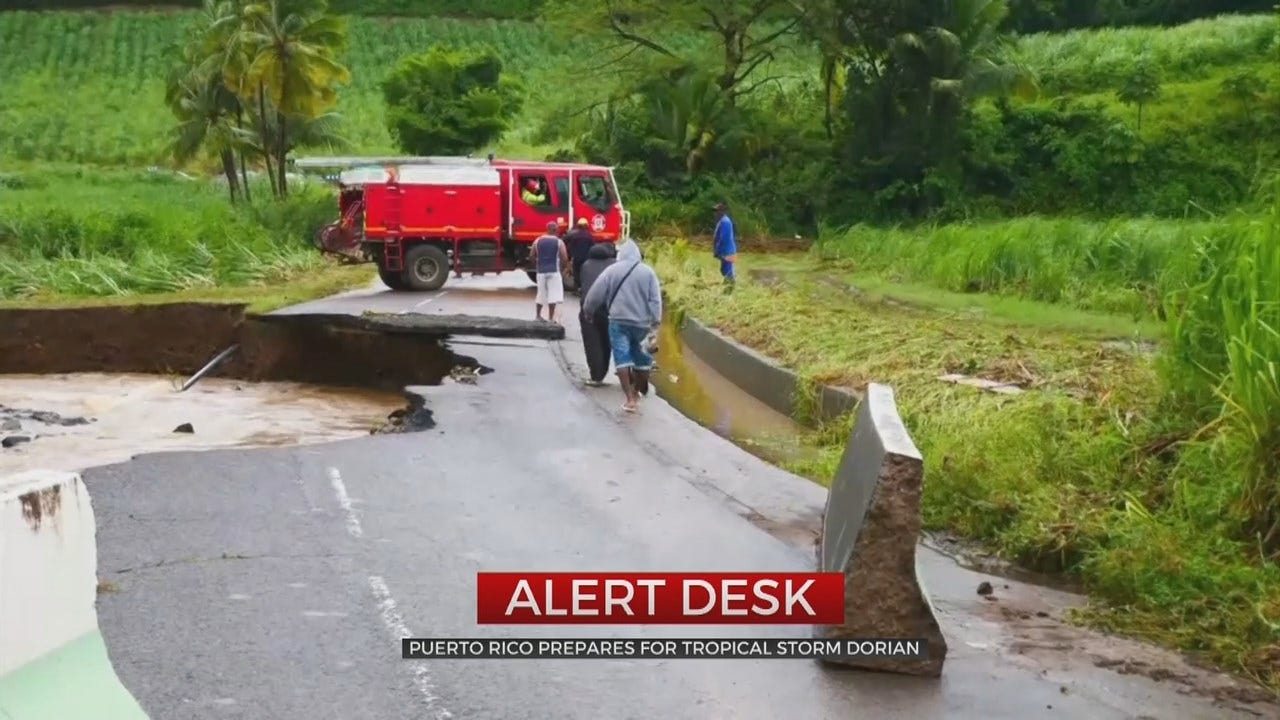 Puerto Rico Under State Of Emergency As Tropical Storm Dorian Approaches