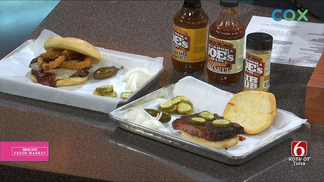 Oklahoma Joe's Boneless Rib Sandwich