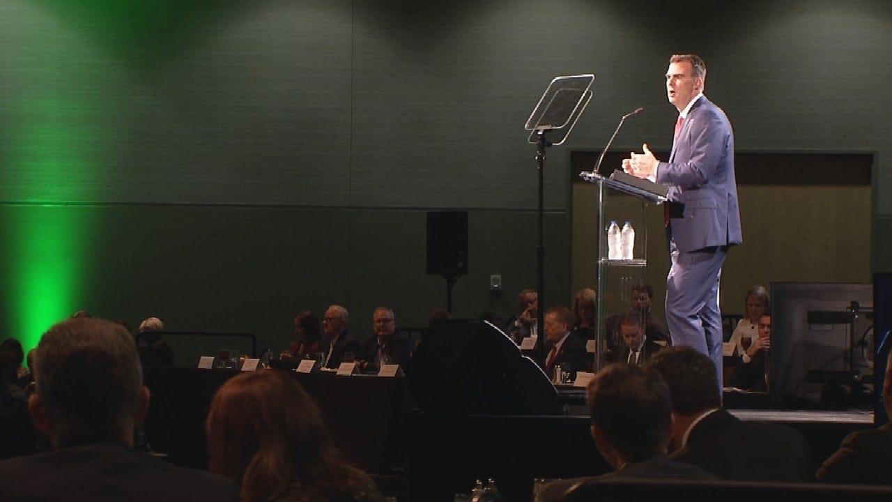 Governor Stitt Speaks To Tulsa Business Community