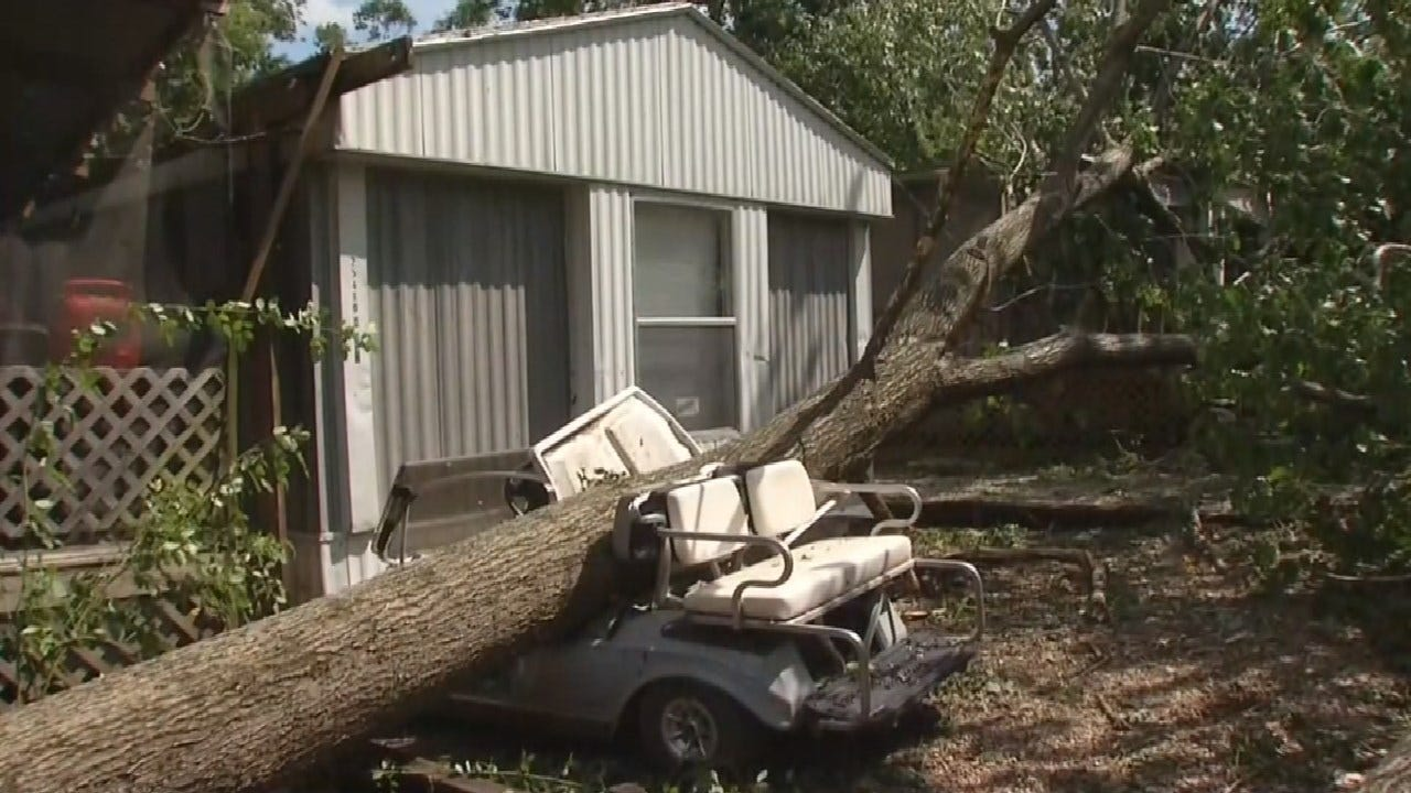 Delaware County Residents Cleaning Up After Powerful Storms