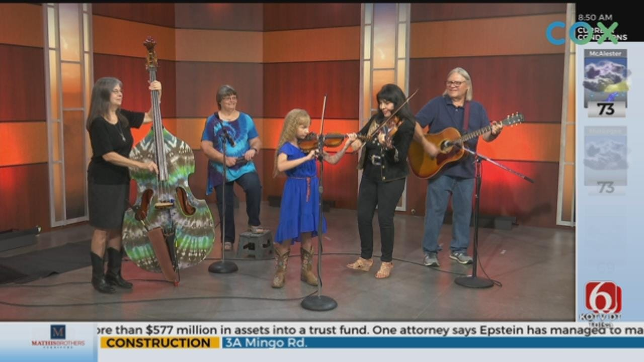 WATCH: Jana Jae Fiddle Camp And Music Festival Comes To Grove