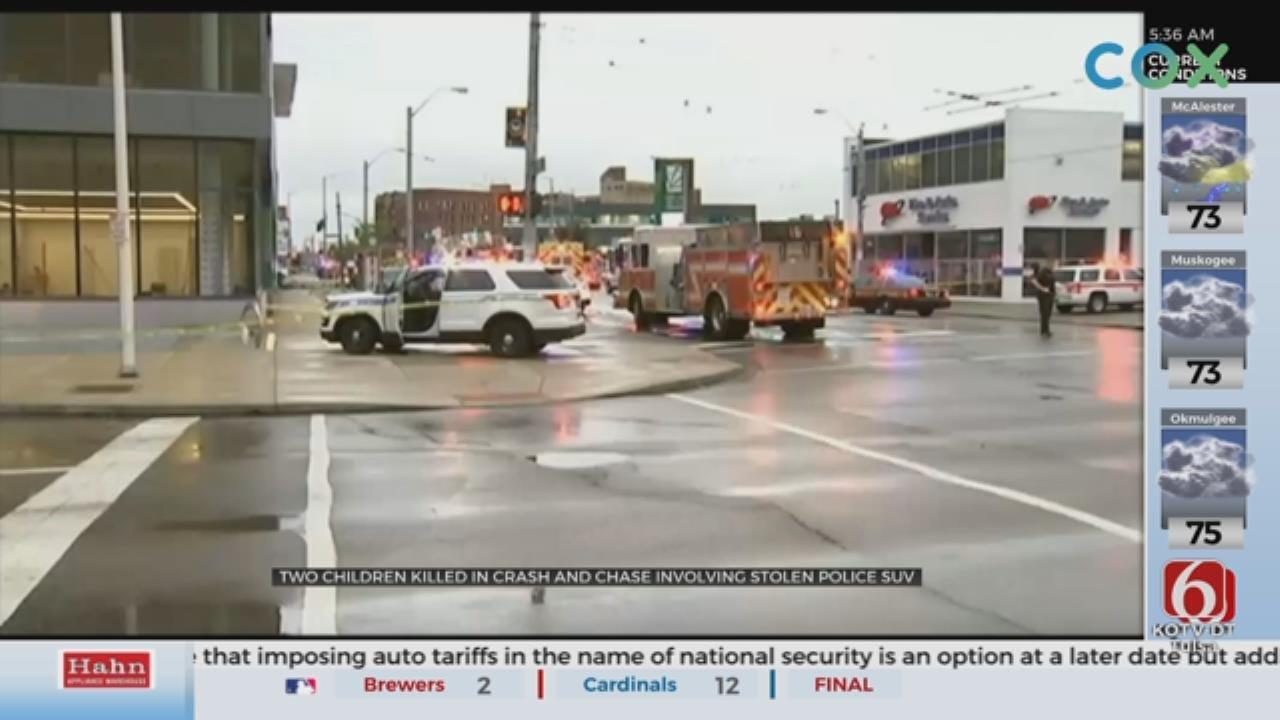 At Least 2 Dead, 10 Injured In Stolen Police Cruiser Crash In Dayton, Ohio