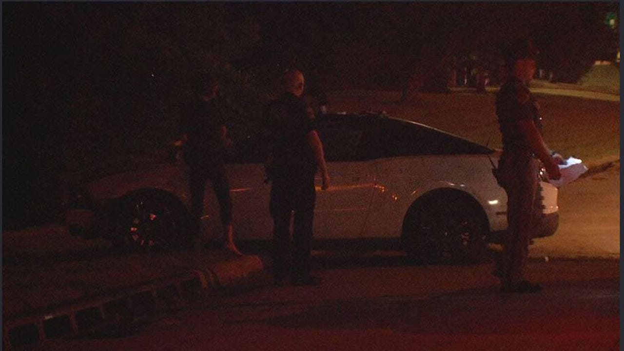 1 In Custody After Chase Involving OHP And Tulsa Police