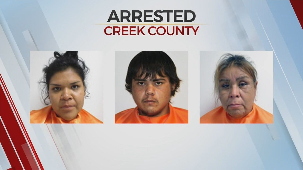 Creek Co. Deputies Arrest 4 After Finding A Child In SUV Sleeping Next To Bag Of Drugs