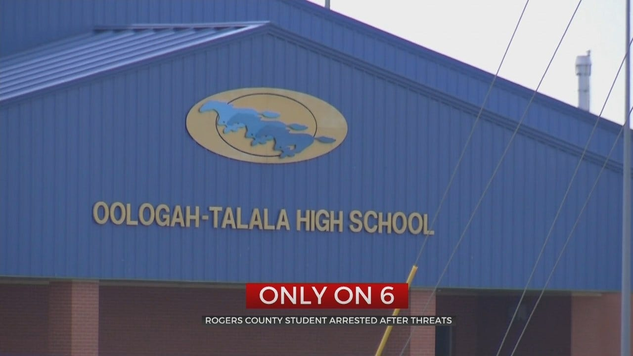 14-Year-Old Oologah-Talala Student Arrested After Snapchat Threats
