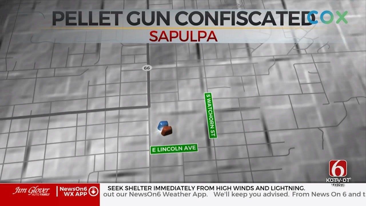 Sapulpa Public Schools Says Student Brought Pellet Gun To Class