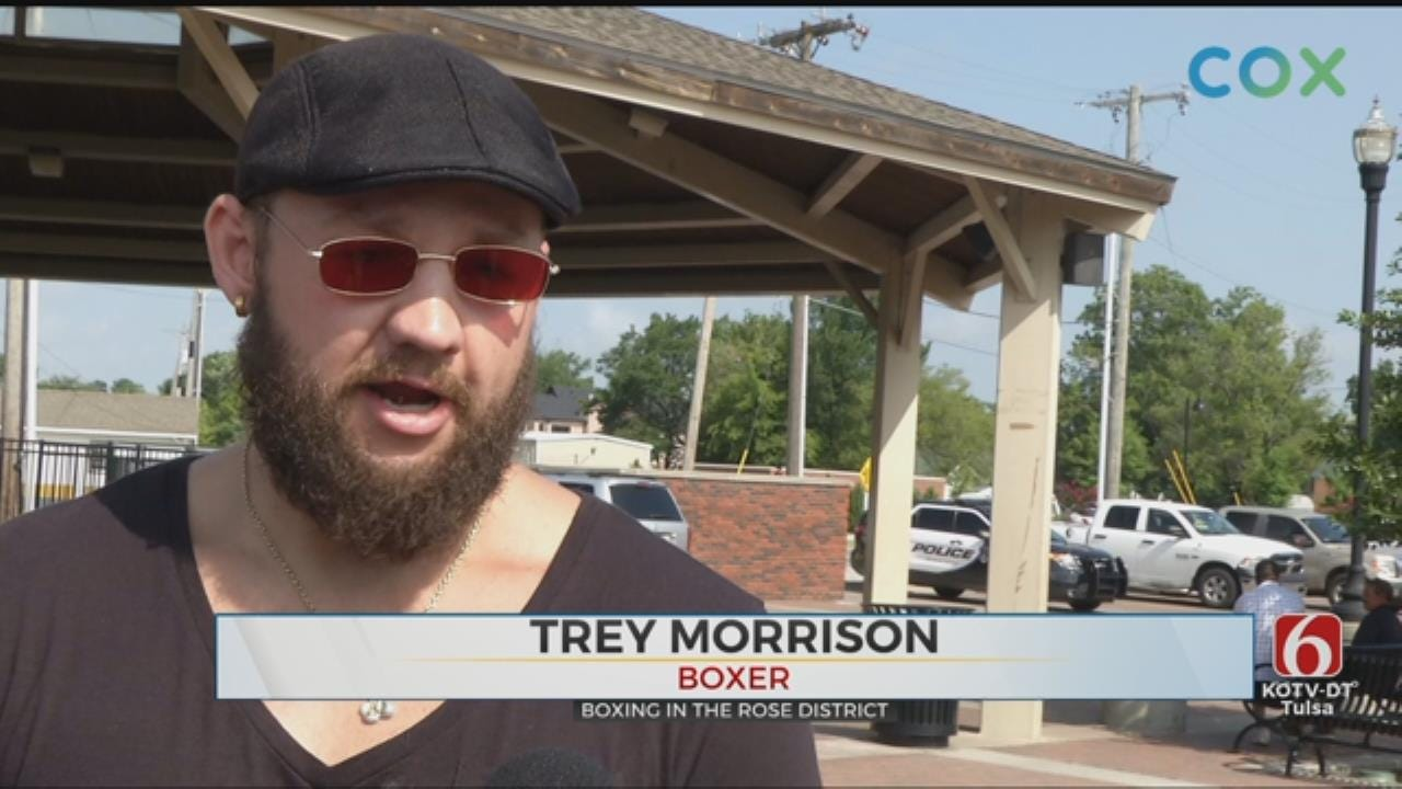 'Rumble In The Rose District' To Feature Oklahoma Boxer Trey Morrison