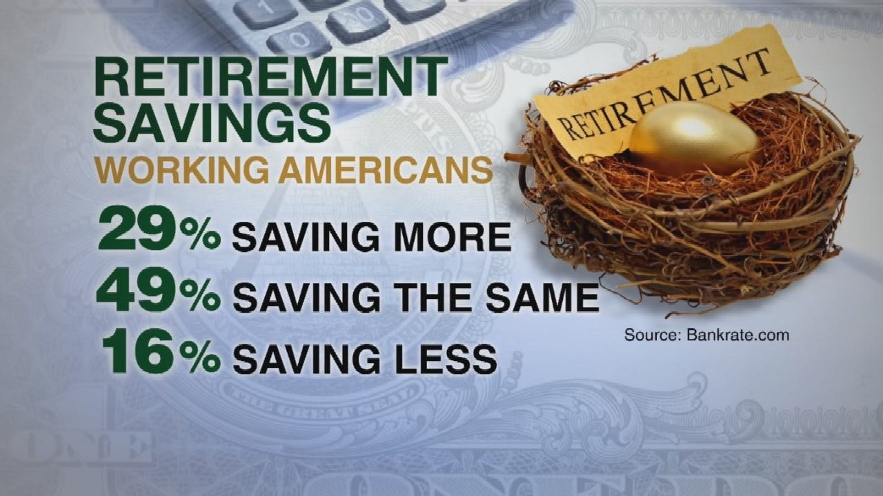 Financial Experts Say Americans Should Be Saving 15% Of Pay For Retirement