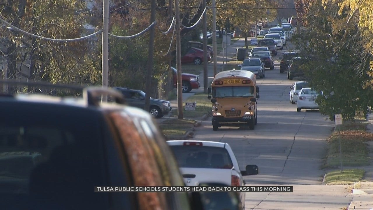 Wednesday Is The First Day Of School For Tulsa Public Schools