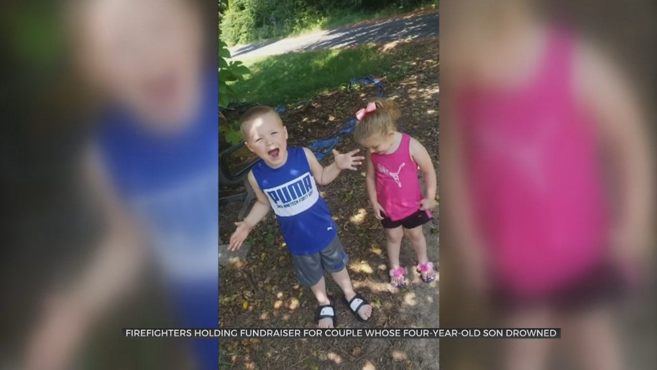 Toppers Fire Department Support Family After Losing Their Son