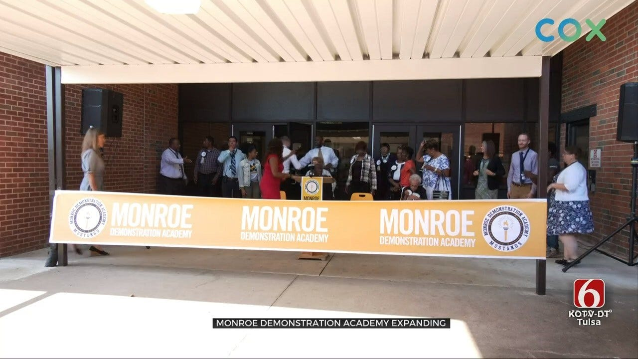 Monroe Demonstration Academy Cuts The Ribbon On Expansion
