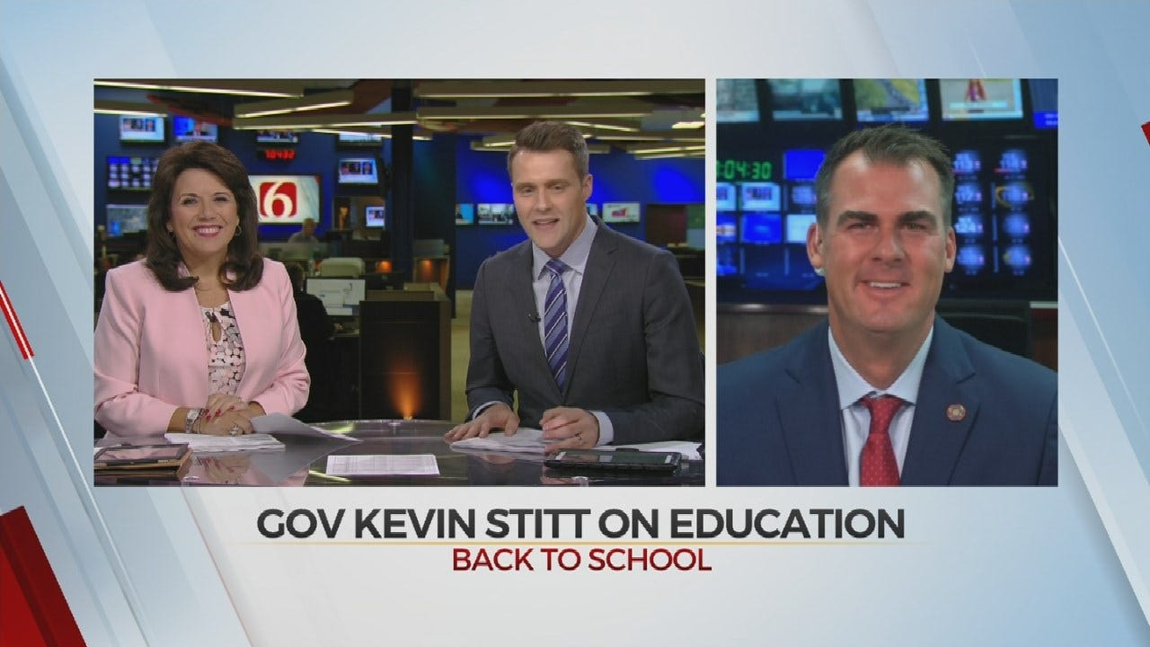WATCH: Governor Kevin Stitt On Education