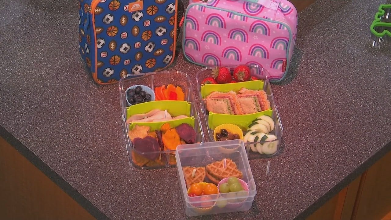 Tulsa Dietician: Shake Up The Lunch Box With Fun, Healthy Meals