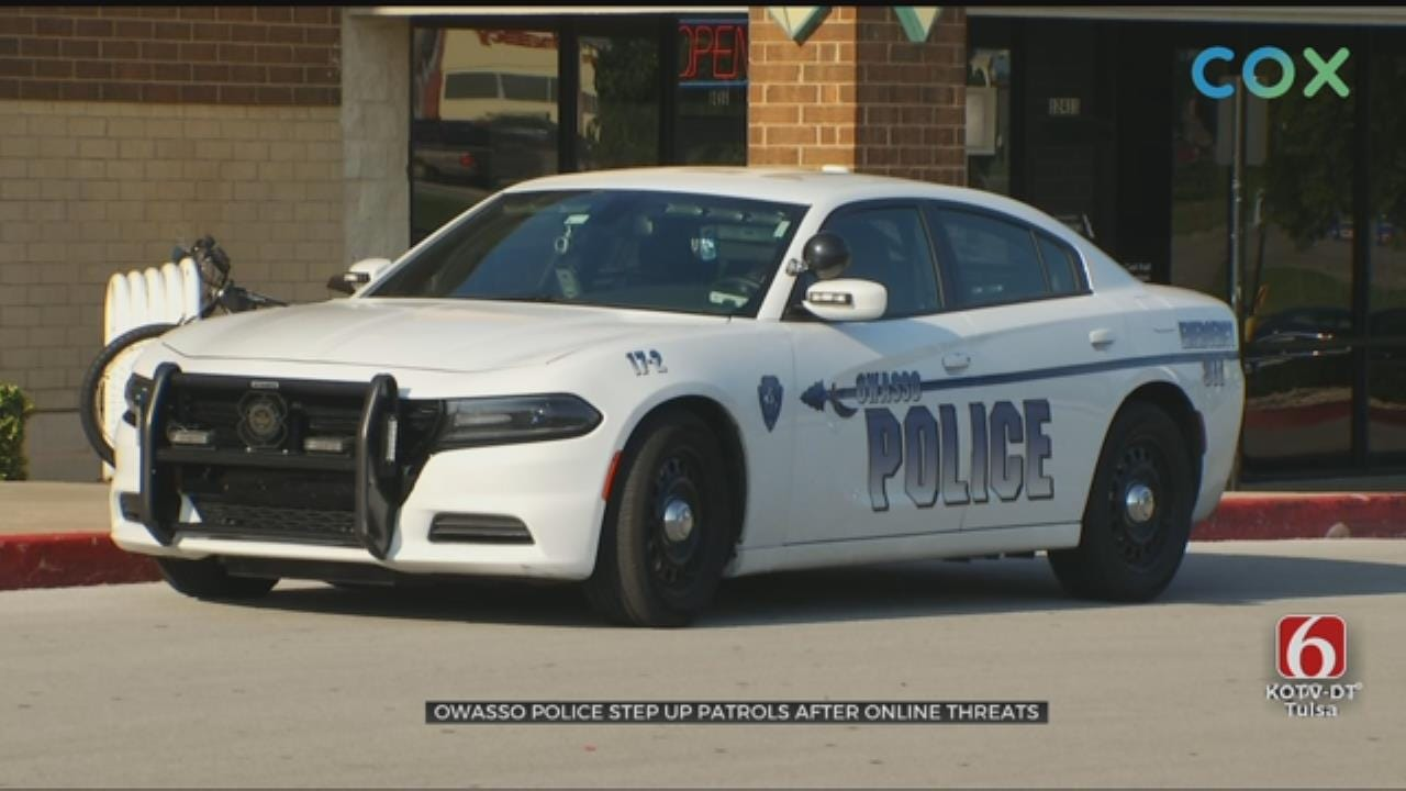 Owasso Police Increase Patrols After Online Threats