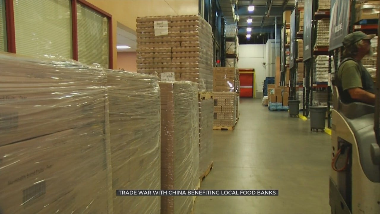 Tariffs Lead To Windfall For Oklahoma Food Banks