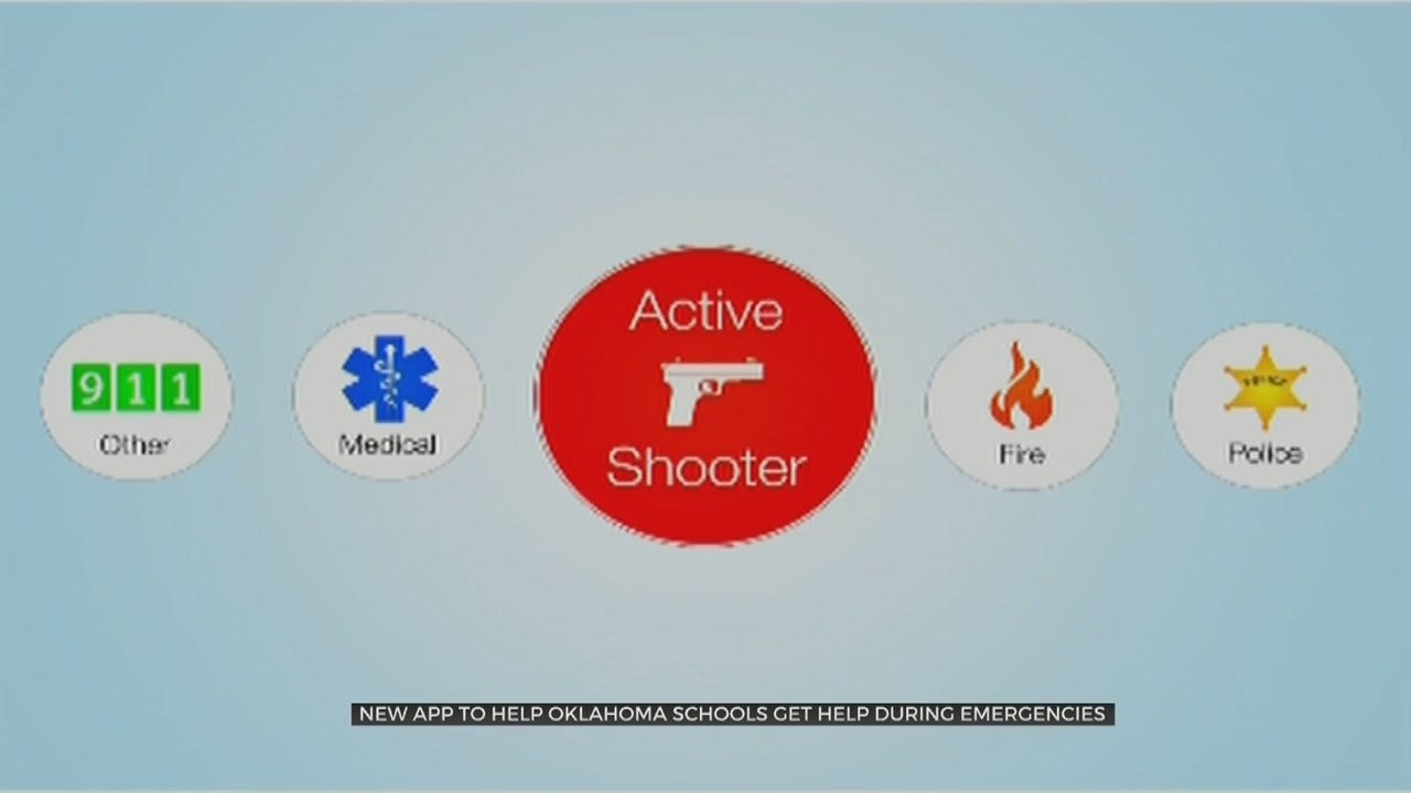 New App Helps Oklahoma Teachers Report Emergencies