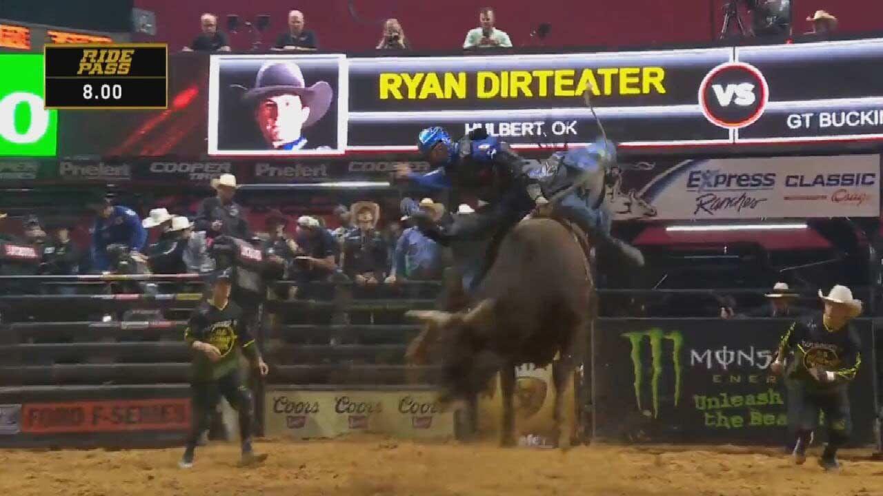 Bull Rider Ryan Dirteater Recovering From Injury After Tulsa PBR Event