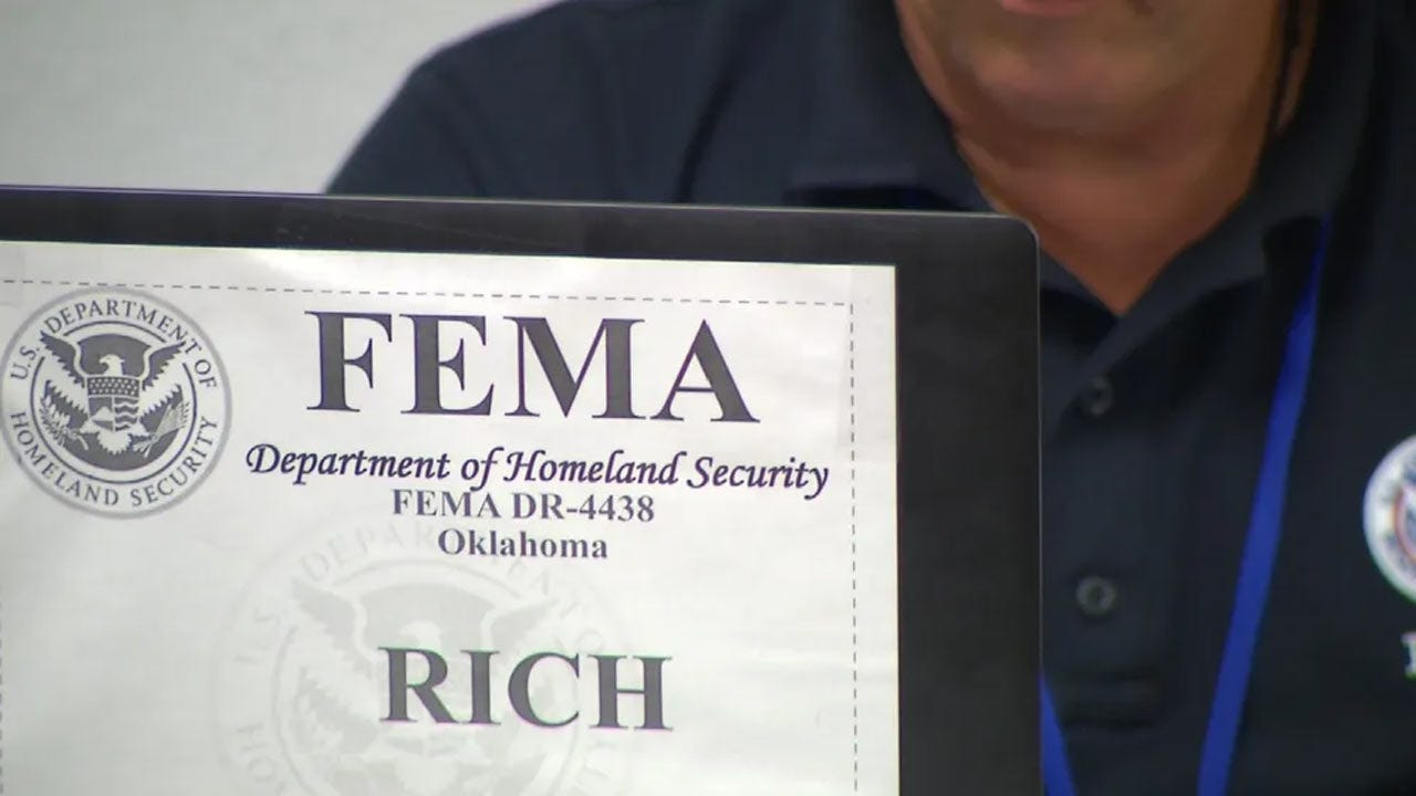 FEMA Representatives Offering Construction Advice For Flood Victims In Muskogee County