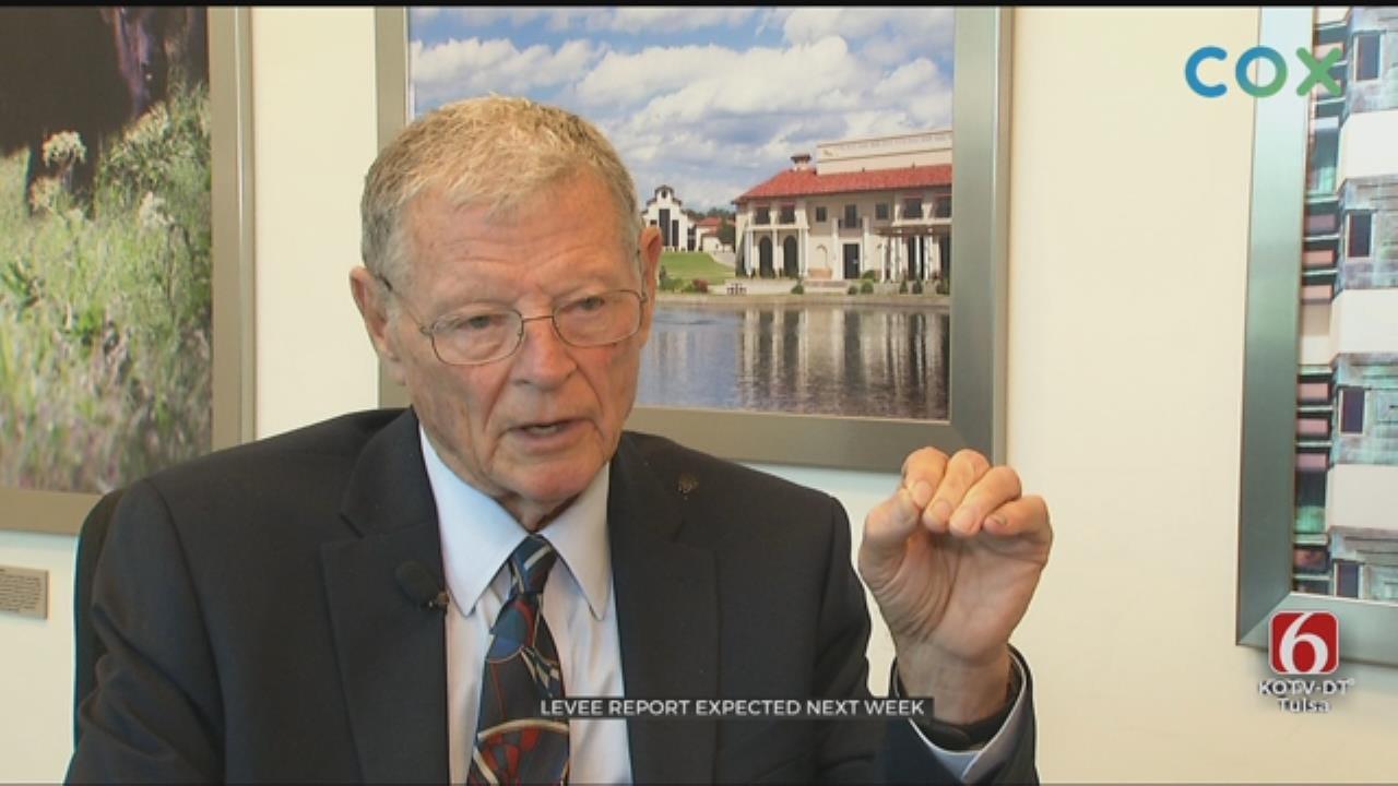 Senator Jim Inhofe Develops Plans For Tulsa's Levee System