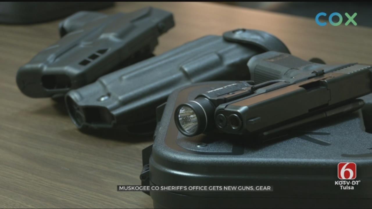 Cherokee Nation Helps Provide New Gear For Muskogee Co. Deputies